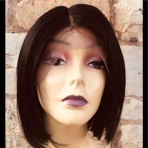 Natural Dark Brown 100% human Hair Wig 2020